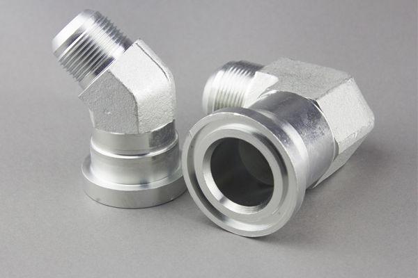 Hidraulic-flanșă-adaptor